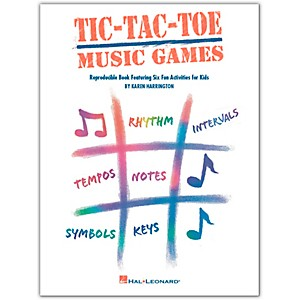 Hal-Leonard-Tic-Tac-Toe-Music-Games-Reproducible-Book-Featuring-Six-Fun-Activities-For-Kids-by-Harrington-Standard