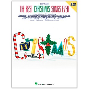 Hal-Leonard-Best-Christmas-Songs-Ever-4th-Edition-For-Easy-Piano-Standard
