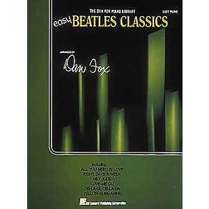 Hal-Leonard-Easy-Beatles-Classics---The-Dan-Fox-Piano-Library-For-Easy-Piano-Standard