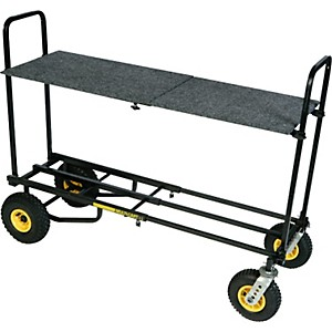 Rock-N-Roller-R12-Multi-Cart-8-in-1-Equipment-Transporter-Cart-With-Shelf-Standard