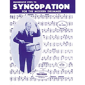 Alfred-Progressive-Steps-to-Syncopation-for-the-Modern-Drummer-Book-Standard
