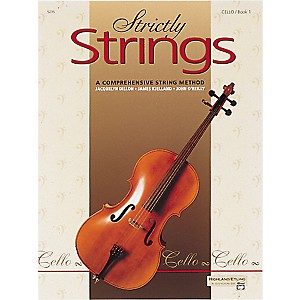 Alfred-Strictly-Strings-Cello-Book-1-Standard