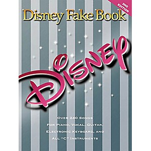 Hal-Leonard-The-Disney-Fake-Book-for-Piano--Guitar--and-Vocals-Standard