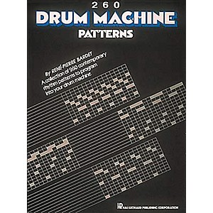 Hal-Leonard-260-Drum-Machine-Patterns-Standard