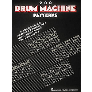Hal-Leonard-200-Drum-Machine-Patterns-Book-Standard