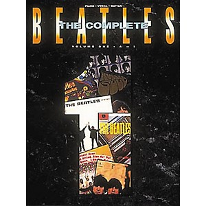 Hal-Leonard-The-Complete-Beatles-Volume-1-Piano--Vocal--Guitar-Songbook--Standard