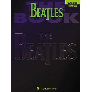 Hal-Leonard-The-Beatles-Easy-Guitar-Tab-Book-Standard