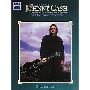 Hal-Leonard-The-Best-of-Johnny-Cash-Easy-Guitar-Tab-Book-Standard