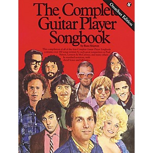 Music-Sales-Complete-Guitar-Player-Tab-Songbook-Omnibus-Edition--Standard