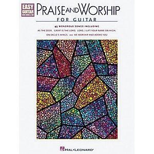 Hal-Leonard-Praise-and-Worship-Easy-Guitar-Tab-Book-Standard