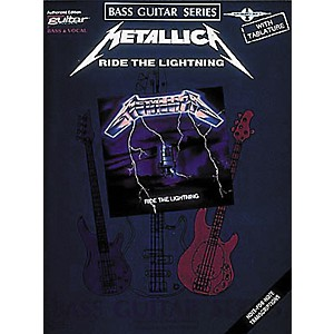 Hal-Leonard-Metallica---Ride-the-Lightning-Bass-Tab-Book-Standard