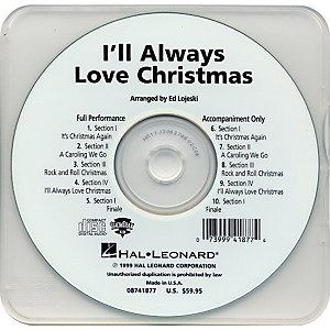 Hal-Leonard-I-ll-Always-Love-Christmas---Performance-CD-Standard