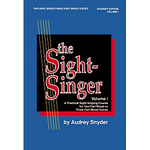 Alfred-The-Sight-Singer-Mixed-Volume-1-Student-Edition-Standard