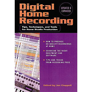 Hal-Leonard-Digital-Home-Recording--2nd-Edition-Book-Standard