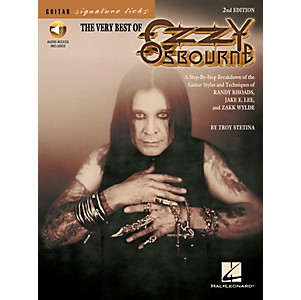 Hal-Leonard-The-Very-Best-Of-Ozzy-Osbourne-Signature-Licks-Book-with-CD--Standard