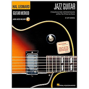 Hal-Leonard-Guitar-Method---Jazz-Guitar--Book-CD--Standard