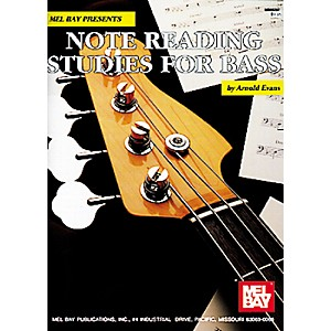 Mel-Bay-Note-Reading-Studies-for-Bass-Book-Standard