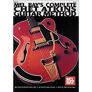 Mel-Bay-Complete-Chet-Atkins-Guitar-Method--Book-CD--Standard