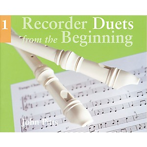 Music-Sales-Recorder-Duets-From-the-Beginning-Book-1-Standard