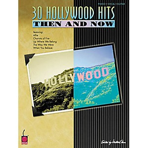 Cherry-Lane-30-Hollywood-Hits-Then-and-Now-Piano--Vocal--Guitar-Songbook-Standard