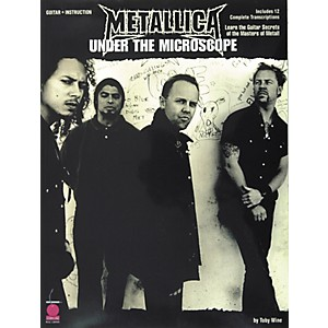 Cherry-Lane-Metallica---Under-the-Microscope-Guitar-Tab-Instructional-Songbook--Standard