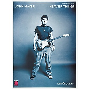 Cherry-Lane-John-Mayer-Heavier-Things-Piano--Vocal--Guitar-Songbook--Standard