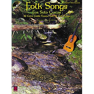 Cherry-Lane-Folk-Songs-for-Solo-Guitar-Songbook-with-CD--Standard