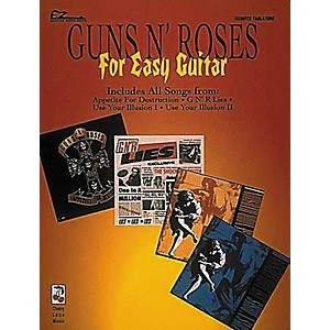 Cherry-Lane-Guns-N--Roses-for-Easy-Guitar-Tab-Songbook-Standard