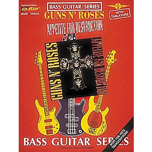Cherry-Lane-Guns-N--Roses-Appetite-for-Destruction-Bass-Guitar-Tab-Songbook-Standard