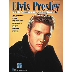 Hal-Leonard-Elvis-Presley-25th-Anniversary-Piano--Vocal--Guitar-Songbook--Standard