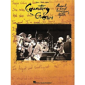 Hal-Leonard-Counting-Crows---August---Everything-After-Piano--Vocal--Guitar-Songbook--Standard