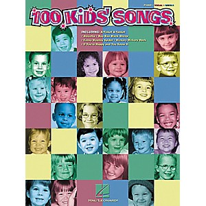 Hal-Leonard-100-Kids--Songs-Piano--Vocal--Guitar-Songbook-Standard