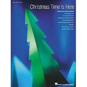 Hal-Leonard-Christmas-Time-Is-Here-Piano--Vocal--Guitar-Songbook--Standard