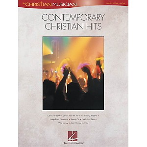 Hal-Leonard-Contemporary-Christian-Hits-Piano--Vocal--Guitar-Songbook--Standard