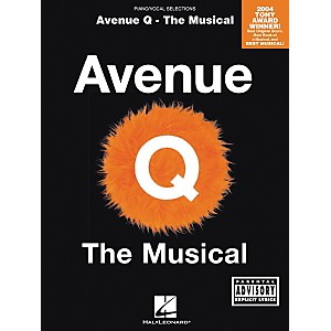 Hal-Leonard-Avenue-Q---The-Musical-Piano--Vocal--Guitar-Songbook--Standard