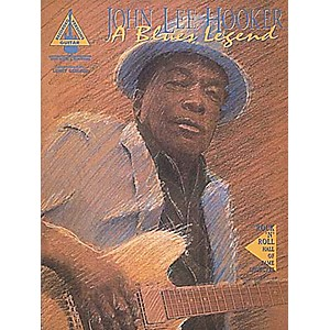Hal-Leonard-John-Lee-Hooker-Blues-Legend-Guitar-Tab-Songbook--Standard