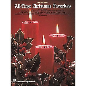 Hal-Leonard-All-Time-Christmas-Piano--Vocal--Guitar-Favorites--Standard