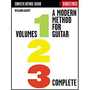Berklee-Press-A-Modern-Method-for-Guitar---Volumes-1--2--3-Complete-Book-Standard