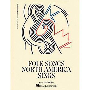 E-C--Kerby-Folk-Songs-North-America-Sings-Kodaly-Collection-Book--Standard