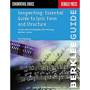 Berklee-Press-Songwriting--Essential-Guide-to-Lyric-Form-and-Structure-Book-Standard