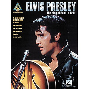 Hal-Leonard-Elvis-Presley-The-King-of-Rock--n--Roll-Guitar-Tab-Songbook-Standard