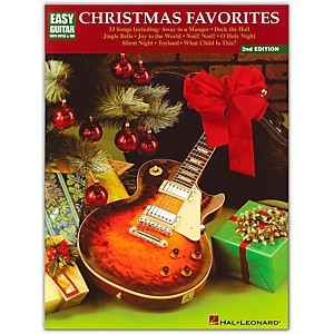Hal-Leonard-Christmas-Favorites-2nd-Edition-Easy-Guitar-Tab-Songbook--Standard