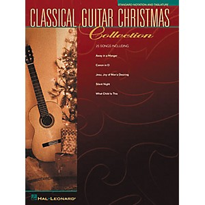Hal-Leonard-Solo-Classical-Guitar-Christmas-Collection-Book--Standard
