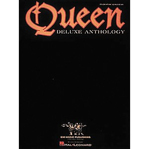 Hal-Leonard-Queen---Deluxe-Anthology-Piano--Vocal--Guitar-Songbook--Standard