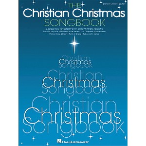 Hal-Leonard-The-Christian-Christmas-Piano--Vocal--Guitar-Songbook--Standard
