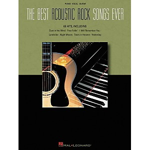 Hal-Leonard-The-Best-Acoustic-Rock-Songs-Ever-Piano--Vocal--Guitar-Songbook--Standard