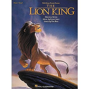 Hal-Leonard-The-Lion-King-Piano--Vocal--Guitar-Songbook--Standard