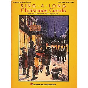 Hal-Leonard-Sing-A-Long-Christmas-Carols-Piano--Vocal--Guitar-Songbook--Standard
