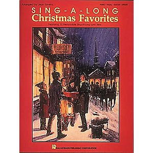 Hal-Leonard-Sing-A-Long-Christmas-Favorites-Piano--Vocal--Guitar-Songbook--Standard