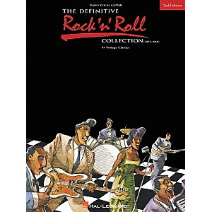 Hal-Leonard-The-Definitive-Rock--n--Roll-Collection-2nd-Edition-Piano--Vocal--Guitar-Songbook-Standard